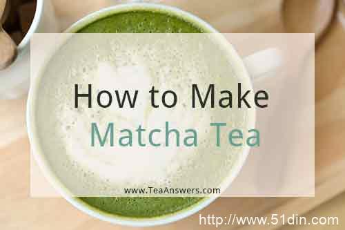如何制作抹茶绿茶-龙井茶