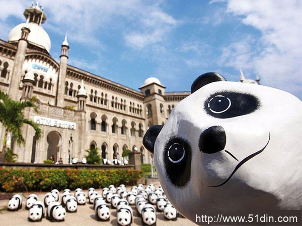 熊猫外交展